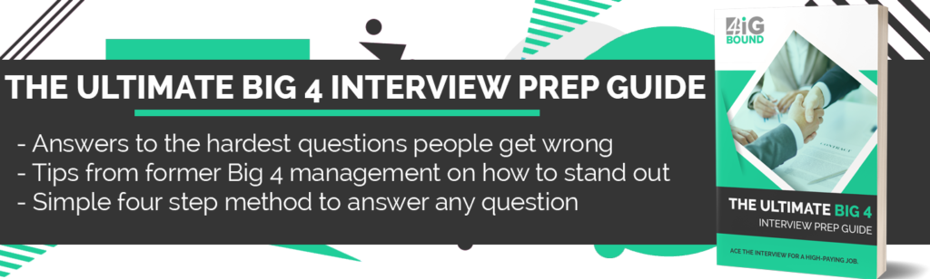 31 Commonly Used Big 4 Interview Questions - Big 4 Bound